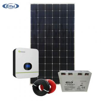 Solar battery backup system for home