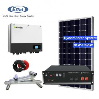 5KW Hybrid Solar Power Systems